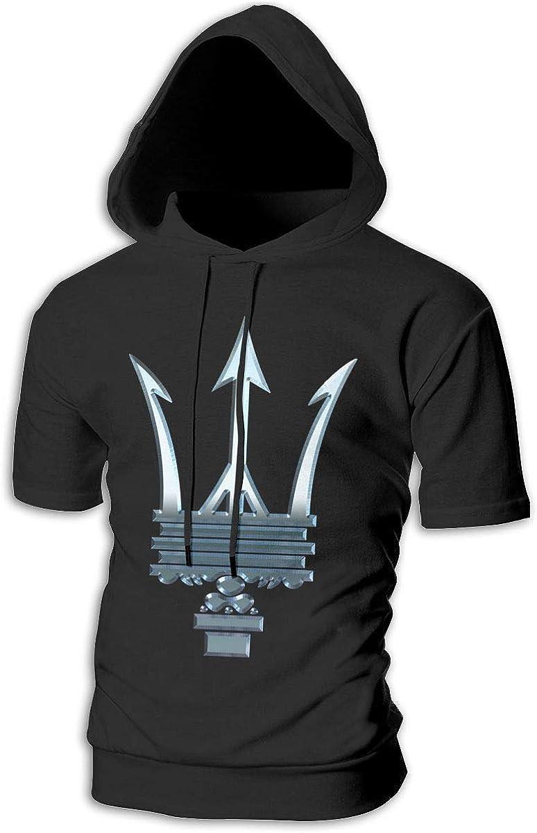 Kinggo Mans with Cap Maserati Logo Novelty Sweatshirt