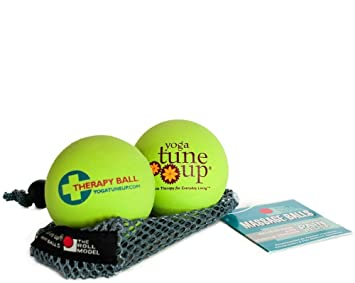 Yoga Tune Up Jill Millers Therapy Balls Hot Green by Yoga ...