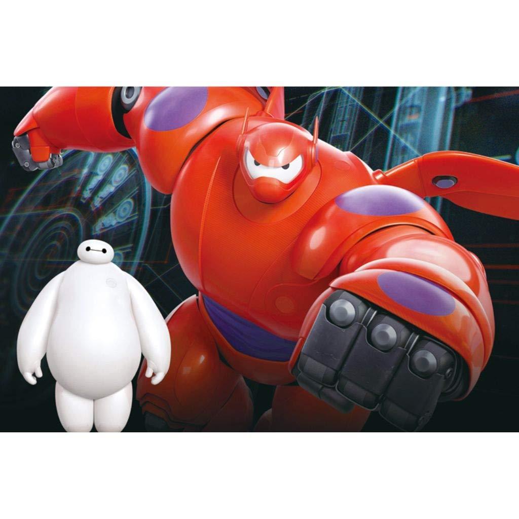 FEI HOME WoodenPT Holz Puzzle Big Hero 6 Baymax Filmplakat Film Stills Animation Cartoon Malerei Perfekter Schnitt & Fit 3001000pc Boxed Toys Spiel für Erwachsene & Kinder PT0327 B07Q4MD6RL Puzzles Lebhaft und liebenswert     | Zart