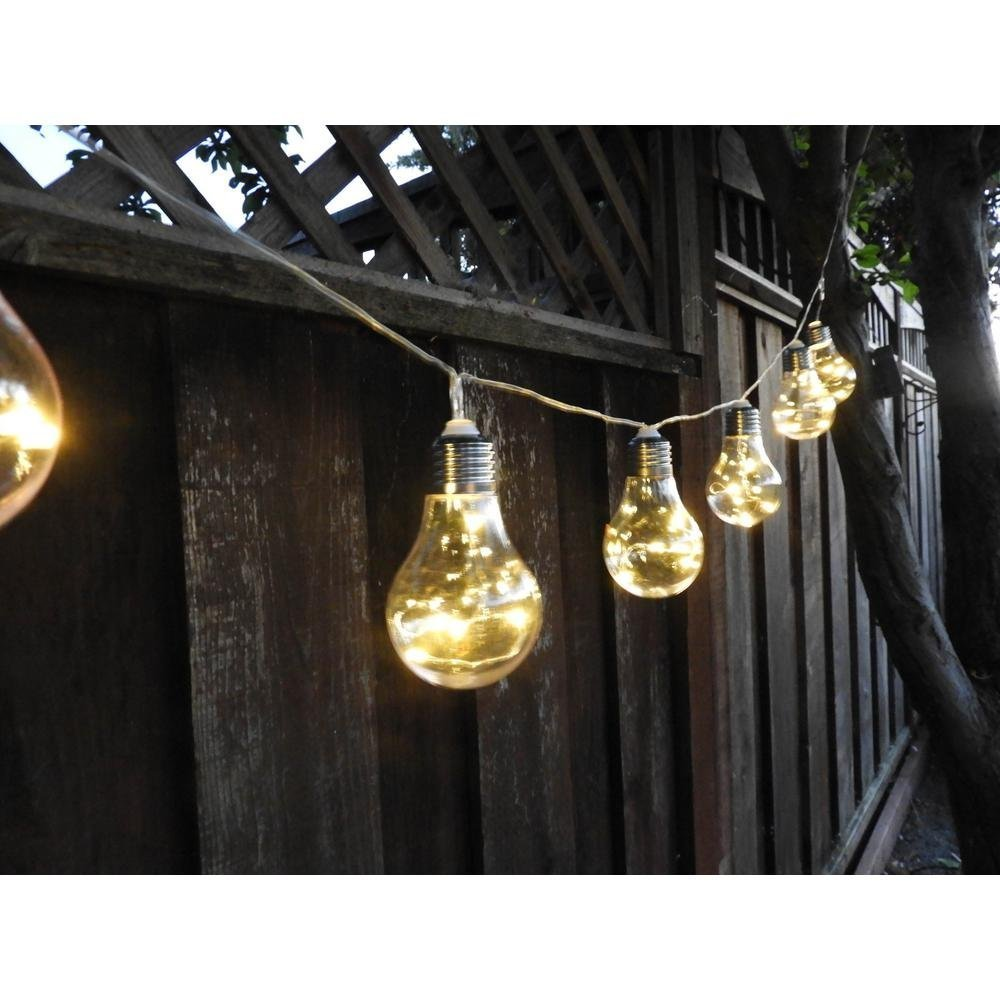 Solar Outdoor String Lights 10PCS LED Waterproof Ball Lights Christmas Lights Solar Powered Starry Fairy String lights for Garden, Patio, Yard, Home, Christmas Tree, Parties