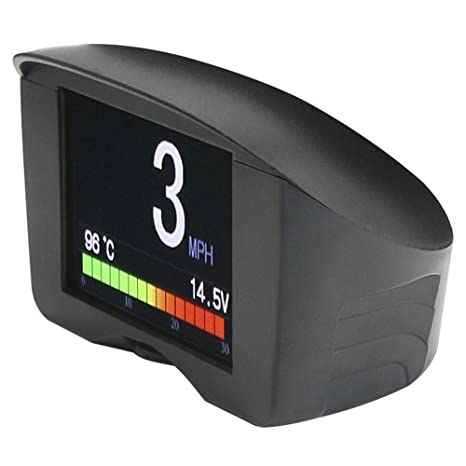 Autool X50 PLUS Multifunción OBD Smart Digital Meter & Alarm Falla Código Medidor de temperatura de agua Digital Voltage Meter Display Soporte 12V OBDII ...