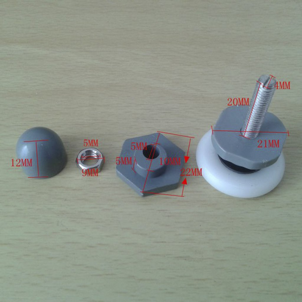 Replacement Shower Door Roller Wheel Runner Diameter 25mm