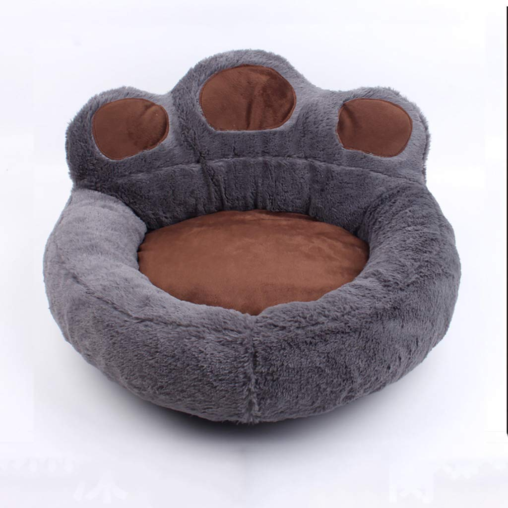 A S-4045cm A S-4045cm Pet Nest Fully Removable and Washable Four Seasons Suede Small Dog Kennel Autumn and Winter Warm Section Pet Thickening Cat Litter Large pet nest (color   A, Size   S-40  45cm)