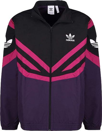 adidas Originals Apparel Sportivo Track Top Black Purple