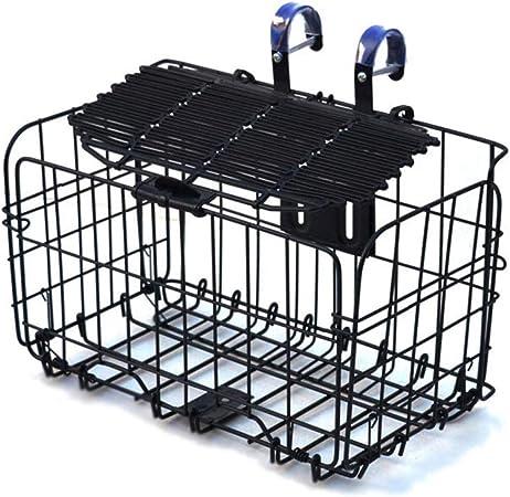 Cesta de bicicleta Plegable de comestibles delantero del manillar de la bici cesta prueba de óxido