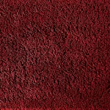 Garland Rug 2-Piece Queen Cotton Washable Rug Set, Chili Pepper Red