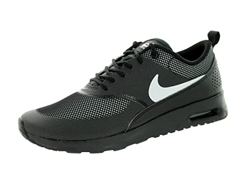 aba205ba2bffb Nike Women s Air Max Thea Low-Top Sneakers Black Size  7.5  Amazon ...