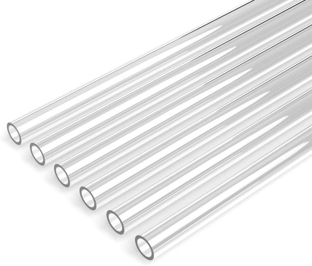 Tubo Rigido PETG para Water Cooling  9.5x12.5mm (6 x 76cm)