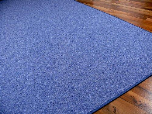 STRONG Feinschlingen Velour Teppich Teppich Teppich Blau in 24 Größen, Größe 200x250 cm B008FO4O96 Teppiche ac0e82