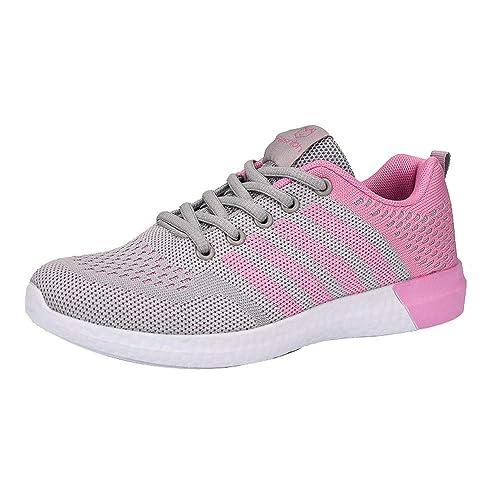 ☺HWTOP Damenschuhe Sneakers Sportschuhe Laufschuhe