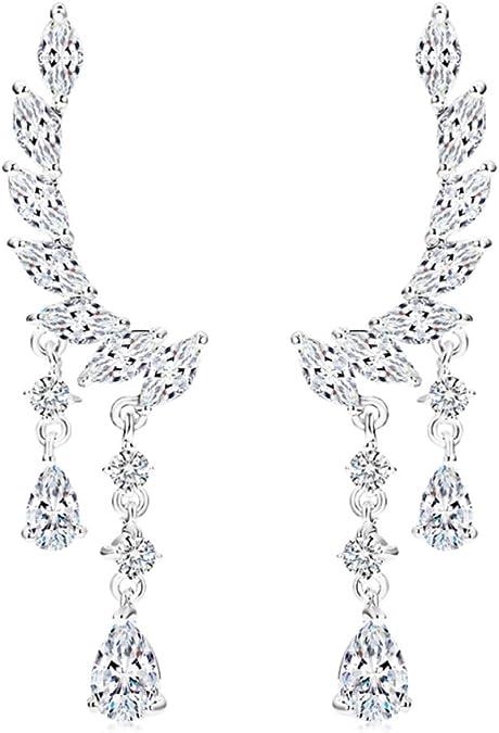 CS-DB Pendants Korean Style Pearl Stone Silver Necklaces