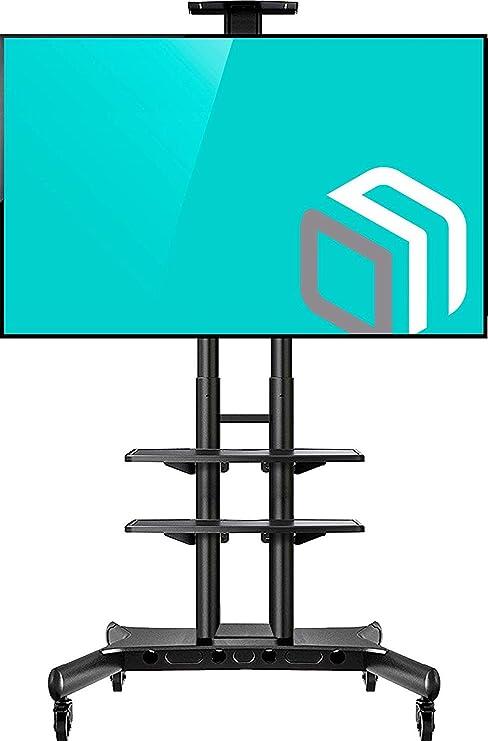 Amazon.com: onkron Mobile soporte de TV carrito de TV para ...