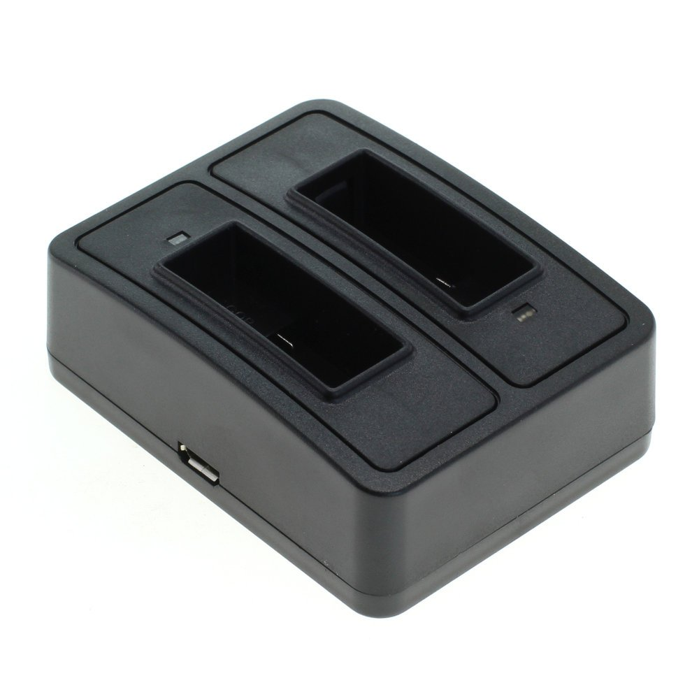 /1302/Station Dual de Recarga Compatible con Sony NP-BG1/ ///NP-FG1/Negro OTB/