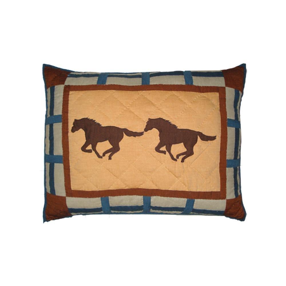 Amazon.com: Magic caballo Trail de parche – Caballo almohada ...