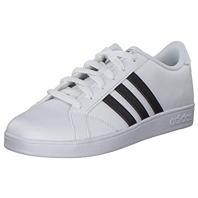 san francisco 02470 d5b4a adidas Baseline K, Chaussures de Fitness Mixte Enfant, Blanc Negbas FTW Bla  000