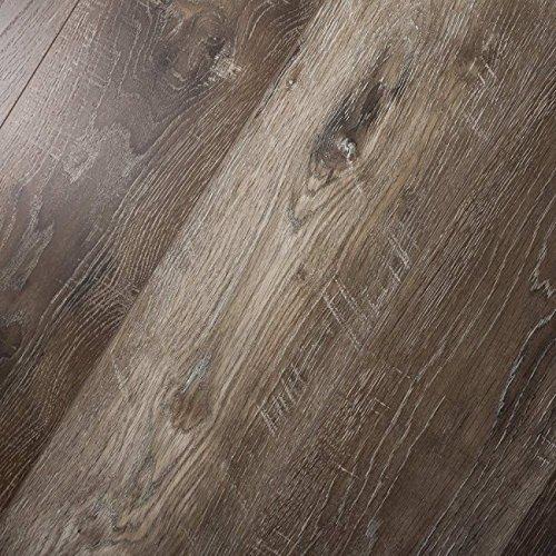 Timeless Designs Everlasting English Oak EVERLENOA Vinyl Flooring + Pad Sample (English Flooring Oak)