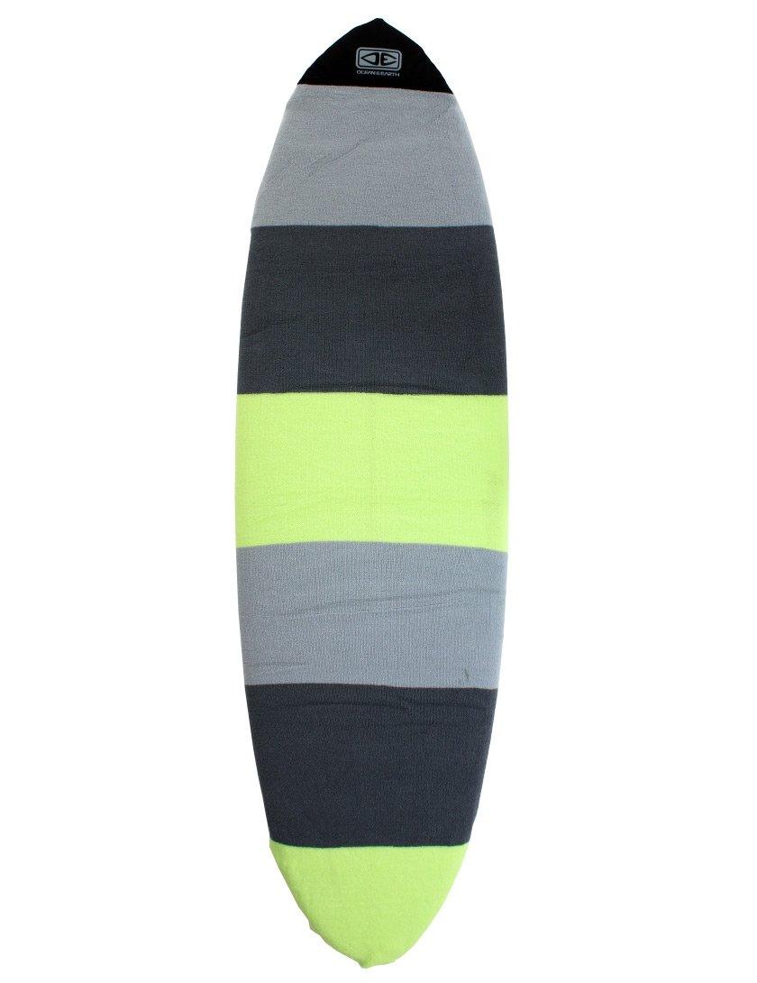 Ocean & Earth Fish surfboard stretch di 1,8m 0–lime 8m 0-lime