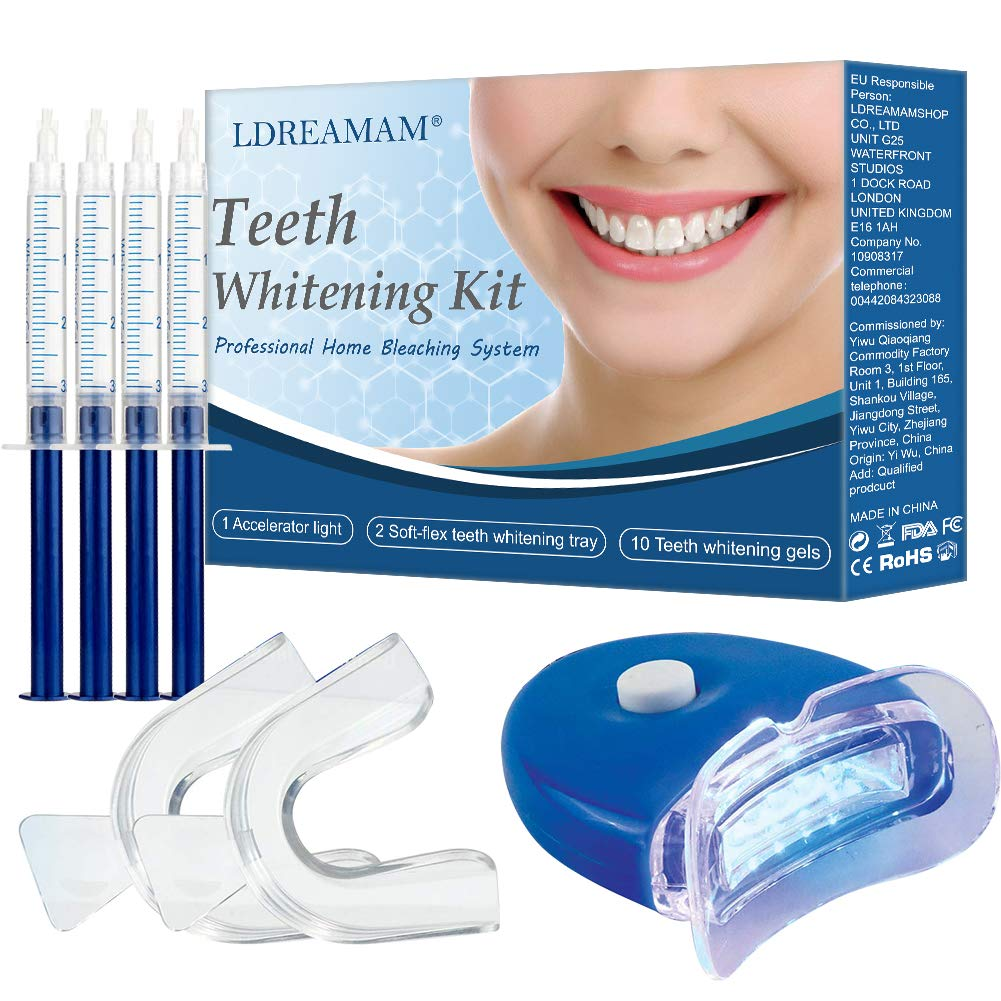 Amazon Com Professional Teeth Whitening Kit Teeth Whitening Gel