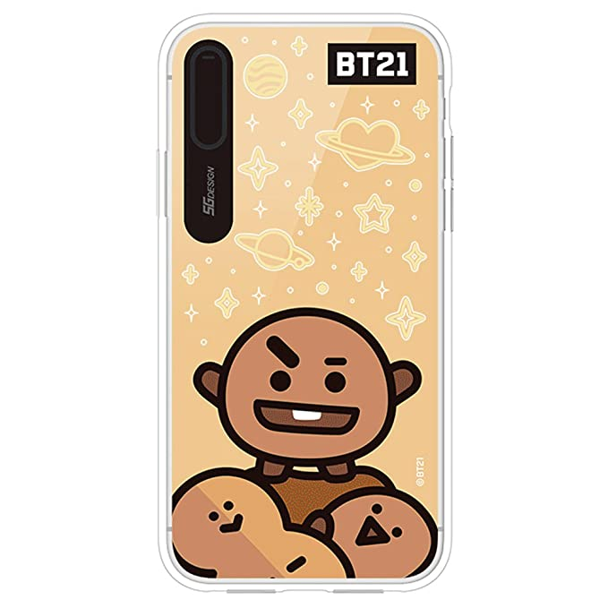 huge selection of e72d1 f81c9 Amazon.com: iPhone X Case, BT21 Official Light Up Mirror Case ...