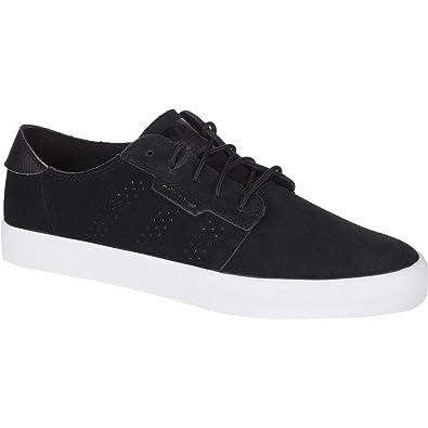 adidas Originals Men's Seeley Essential Fashion Sneaker, Black/Black/White,  ...