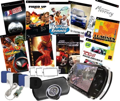 Giga Pack 10 Game Bundle (PSP) [Importación Inglesa]: Amazon.es: Videojuegos