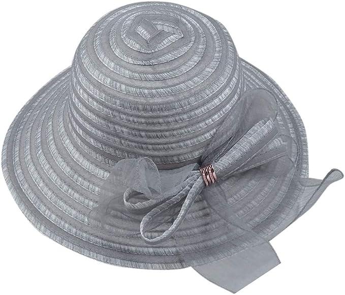 Sombrero de Playa de Sol para Mujer Sombrero Mujer Verano ala ...
