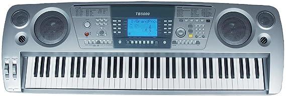 Ringway TB5000 - Teclado, 76 teclas,: Amazon.es: Instrumentos ...