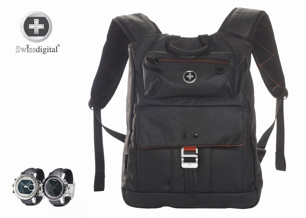 SwissDigital Logic Backpack - Hiking, Camping, Survival, Theme Parks, Adventure