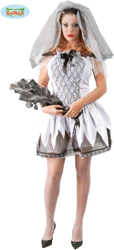 Guirca – Disfraz de novia cadáver para adultos, 40 – 44, 80478 ...