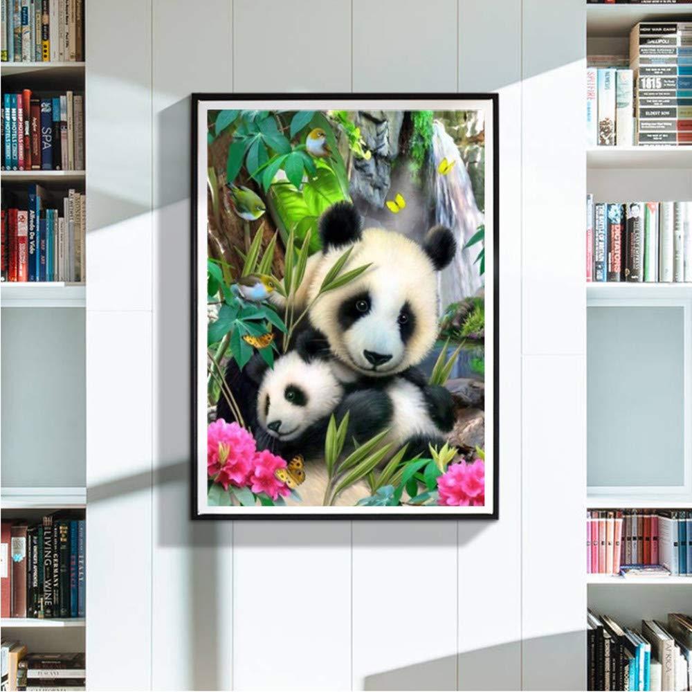 Jaysis 5D Stickerei Gem/älde Strass Klebte DIY Diamant Malerei Kreuzstich Voller Diamanten Panda