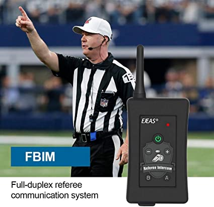 Professional Football Referee V6C Intercom 850mAh Motorcycle Snowmobile Full Duplex 1200M Wireless BT Intercom Interphone Earpiece With Referees Headset and Armband