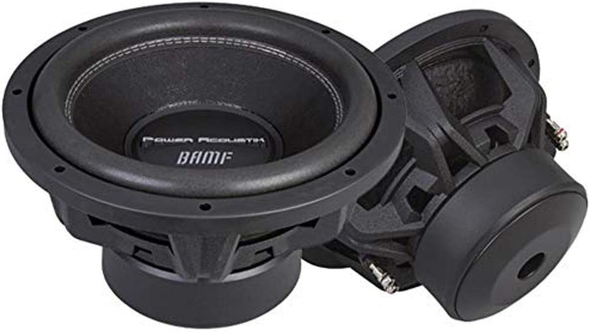 "Power Acoustik BAMF-152 15"" Dual 2 Ω 3800W RMS Subwoofer"