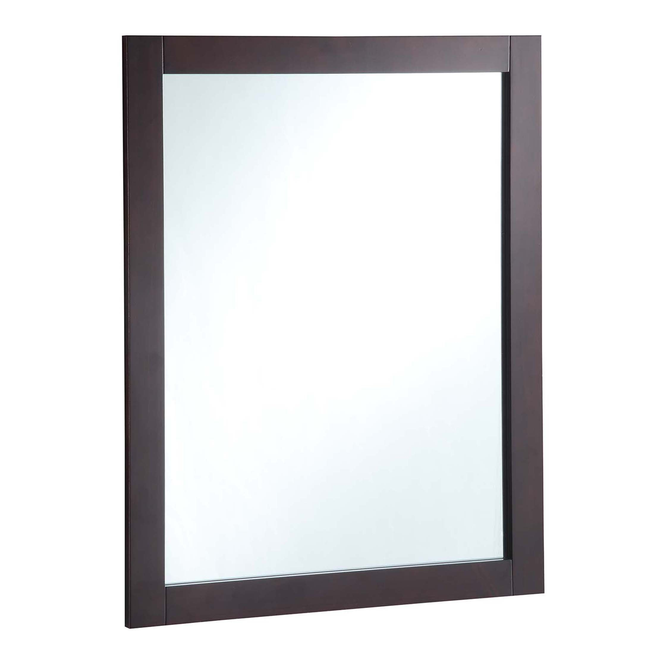 Design House 547083 24'' by 30'' Vanity Mirror, Espresso