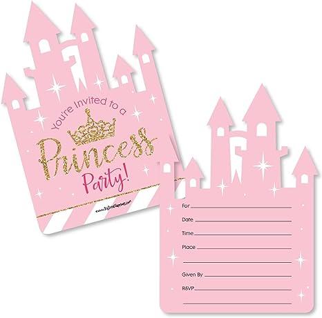 Amazon.com: Little Princess Crown – forma de llenar Rosa y ...