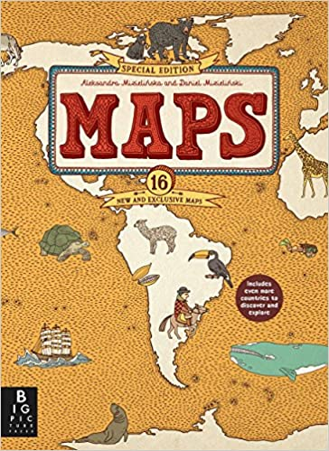 amazon maps special edition mizielinskas mizielinski reference