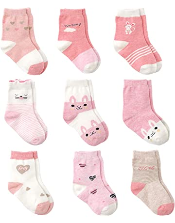 Size: 12-24 Months , Mamas /& Papas Baby Girls Socks 5 Pc Gift Box Pink 14 Pink