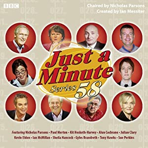 Just A Minute: Complete Series 58 Radio/TV Program
