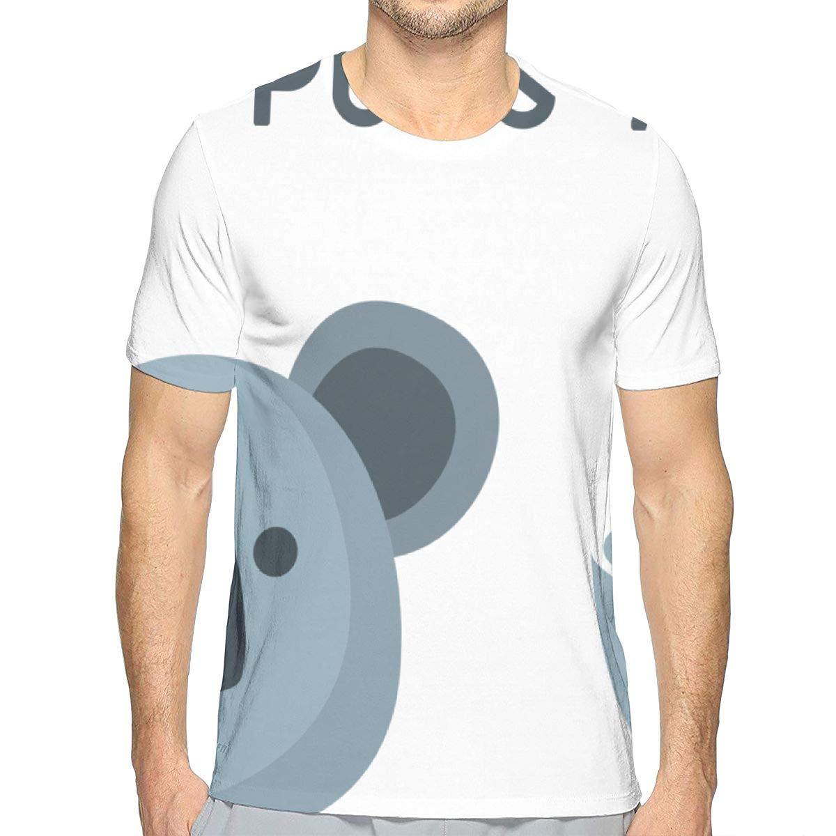 MNKAM My Puns are Koala Tea Fan Crewneck Vintage Short Sleeve Adult T-Shirt