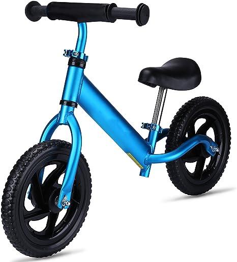 OUTON Bicicleta de Equilibrio para niños con Marco de Aluminio sin ...