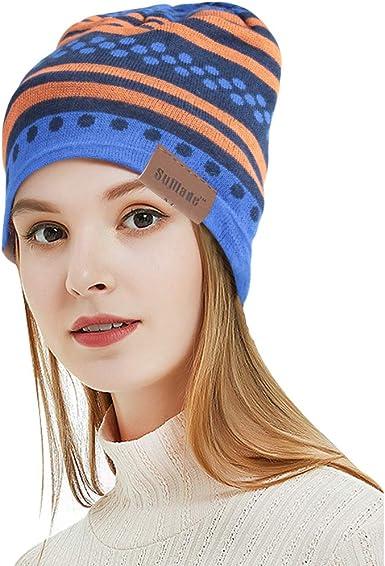 Sports Men Women Beanie Hat Winter Warm Outdoor Ski Running Cap Windproof  Soft