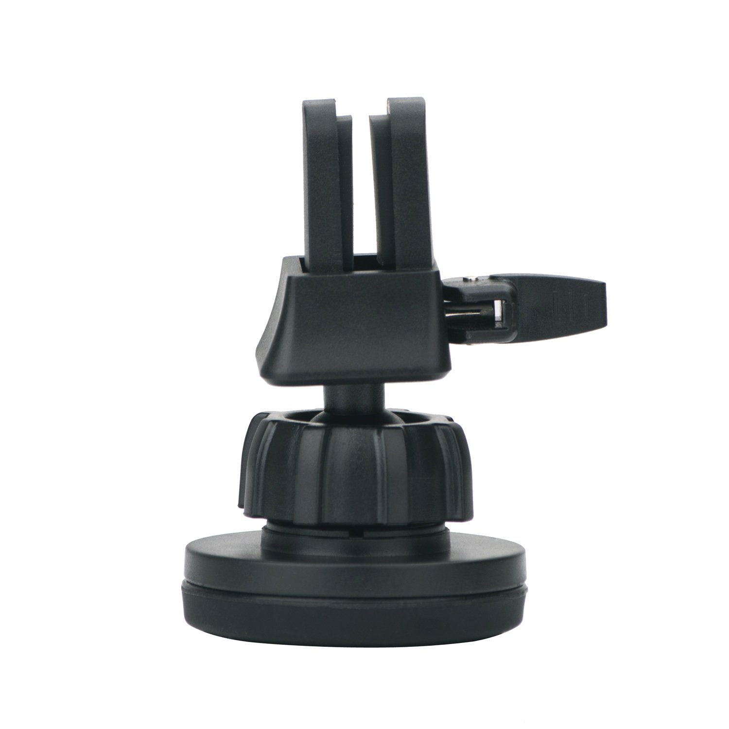 Ztechworld Quick Snap Air Vent Magnetic Car Mount Holder for iPhone 7 6 6S Plus// Samsung Galaxy S Plus S7 S6 Edge Note 360 Rotation Black Round Head ZTA046