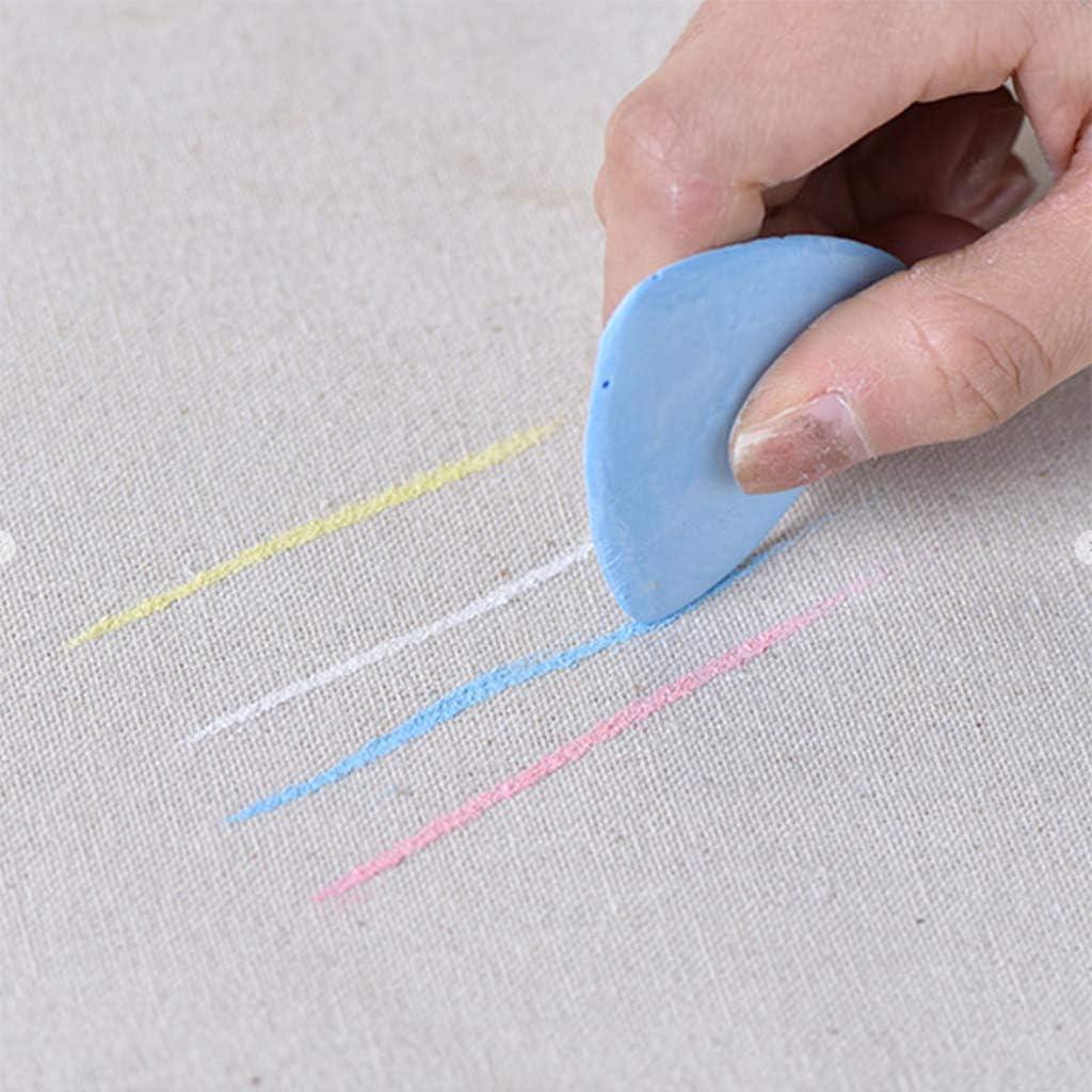 minansostey 10//20//30pcs Multicolor Tailors Chalk Marker Erasable Patchwork Pattern Clothes