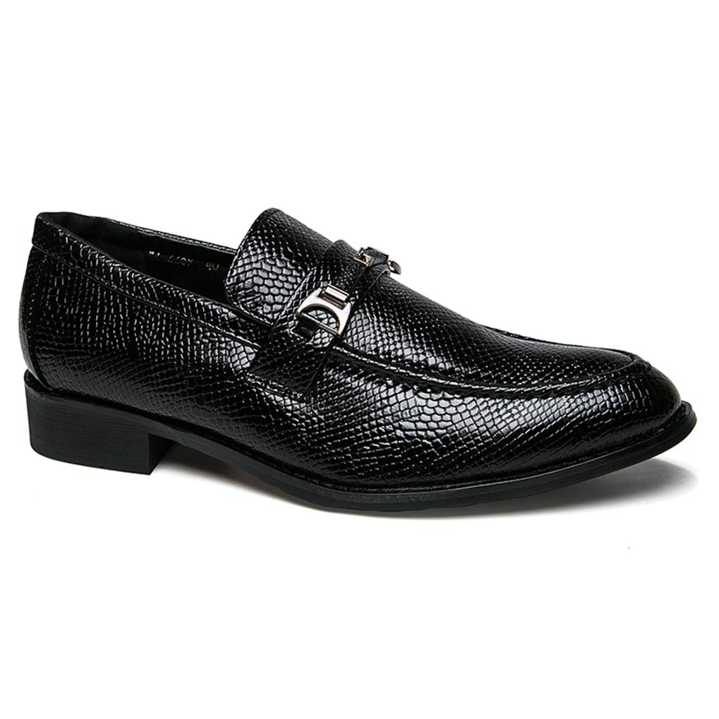 Starttwin Men Loafers Shoes Slip on Comfortable Anti-Skid Casual Fashion Oxford Shoes