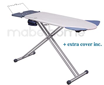 Amazon.com: Mabel Home Extra-Wide ironing Pro Board with Shoulder ... : wide ironing board for quilting - Adamdwight.com