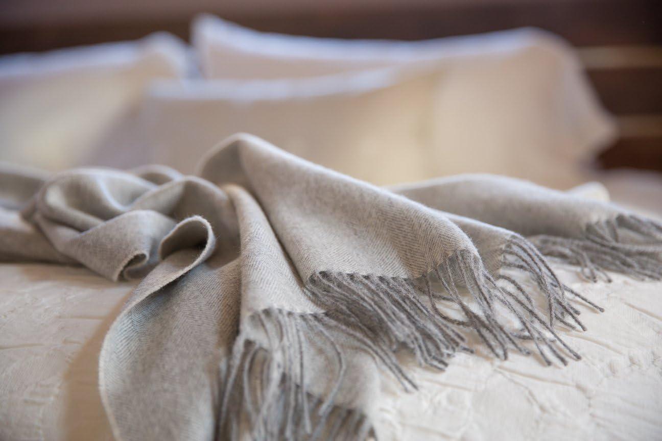 Alpaca Lightweight Throw Blanket