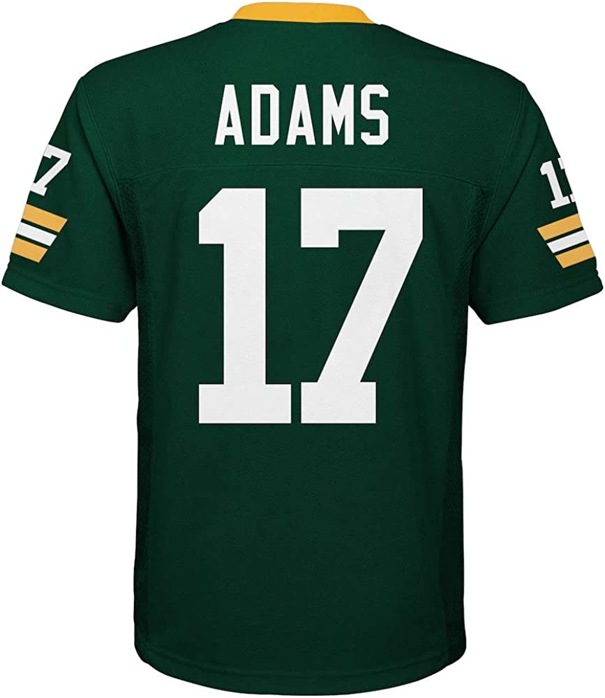Davante Adams Green Bay Packers NFL Youth Green Home Mid-Tier Jersey