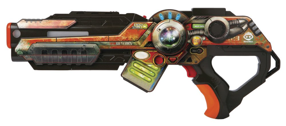 Wowwee Light Strike Assault Striker With Simple Target - Orange