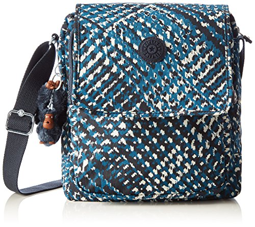 Kipling Netta, Bolso Bandolera para Mujer Multicolor (78M City Highlight)