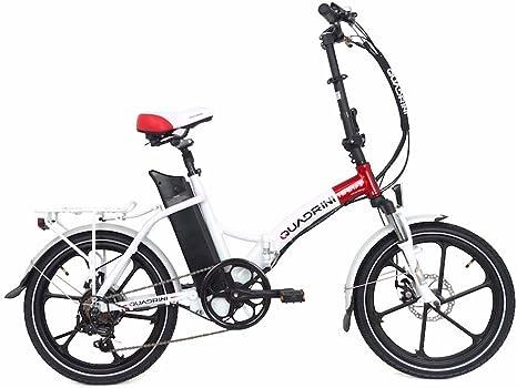 QUADRINI Bicicleta eléctrica, Bicicletas eléctricas Plegables ...