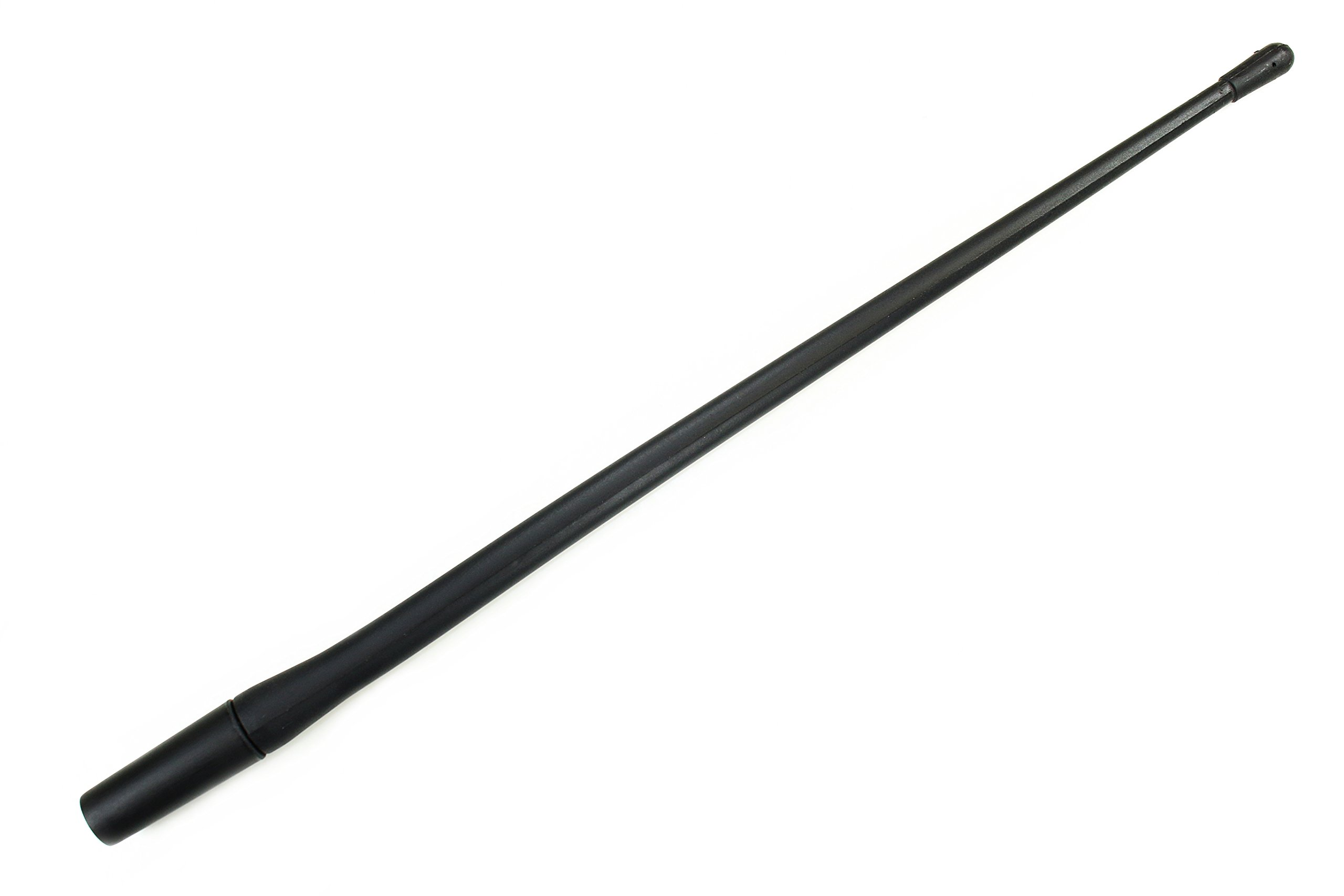AntennaMastsRus - 13'' All-Terrain Flexible Rubber Antenna works with Chevrolet Silverado 3500 (2006-2019) - SPRING STEEL INTERNAL CORE